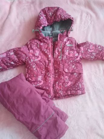 Комплект: куртка и полукомбинезон