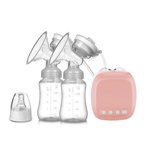 Двухфазный двойной молокоотсос с соской и двумя бутылочками