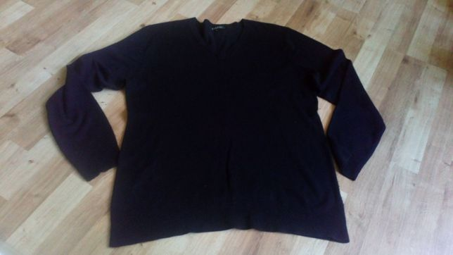 Czarny sweter george roz 48/50