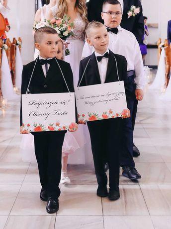 Tablice ślubne/ tabliczki dla dzieci