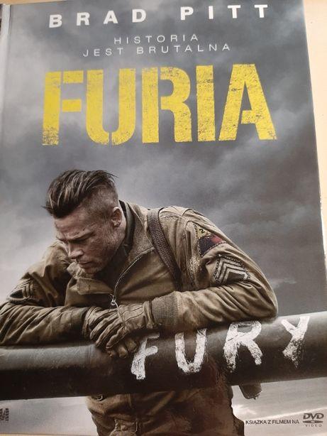 Film DVD Furia Brad Pitt