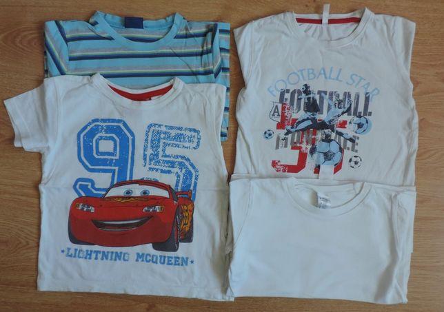 Koszulki 116 t-shirty koszulka t-shirt chłopiec dla chłopca