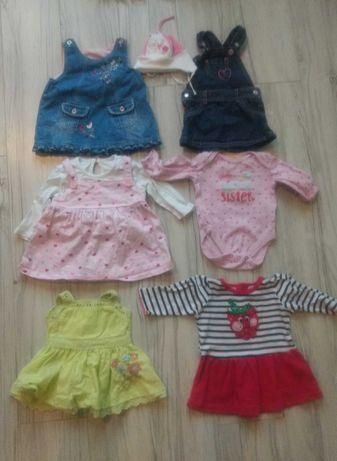 Ubranka niemowlęce dla dziewczynki