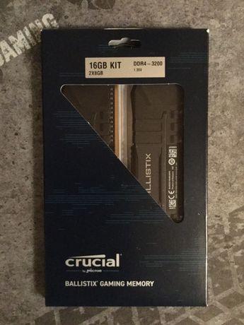 Crucial Ballistix U4 16Gb (2x8Gb) DDR4-3200 MHz BL2K8G32C16U4B