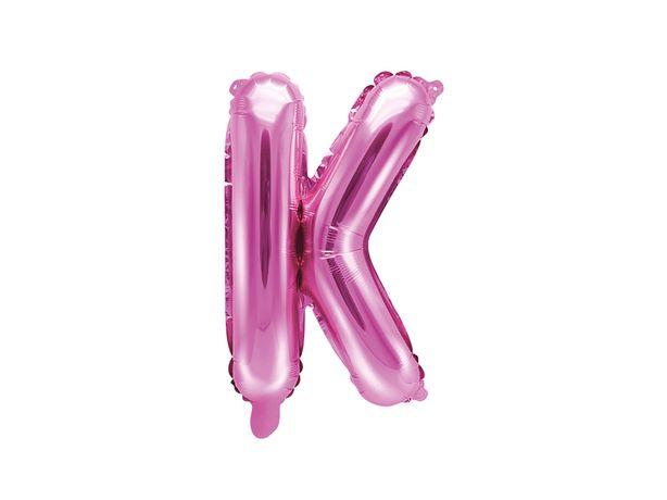 Balon litera K różne kolory
