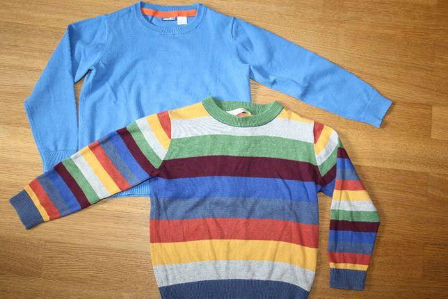 Zestaw dwóch swetrów John Lewis i Lupilu rozm. 98/104