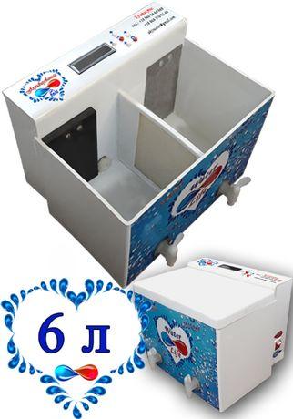 Аппарат для очистки, обеззараживания и насыщения кремнием воды