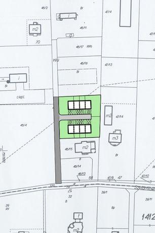 Działka dla dewelopera z wydanymi WZ 1 km od granicy Wawy ok 822 PUM