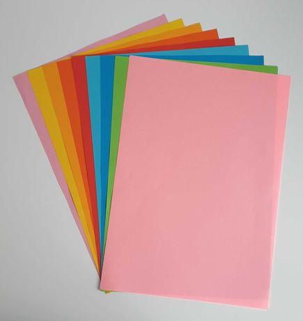 papier ksero jasnoróżowy, format A4, 80g - na ztuki