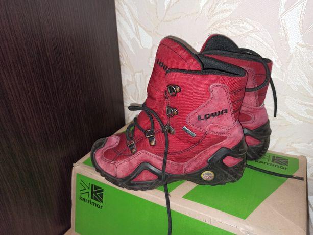 Детские зимние ботинки Lowa / Лова