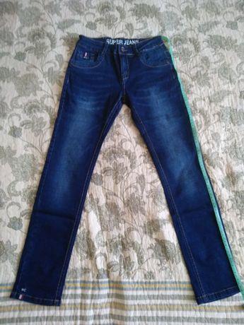Новые джинсы на стройного парня, размер 146-152