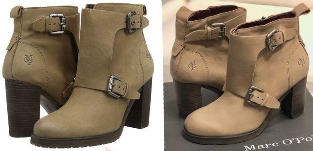 Marc O'Polo женские ботинки из нубука демисезонные, НОВЫЕ