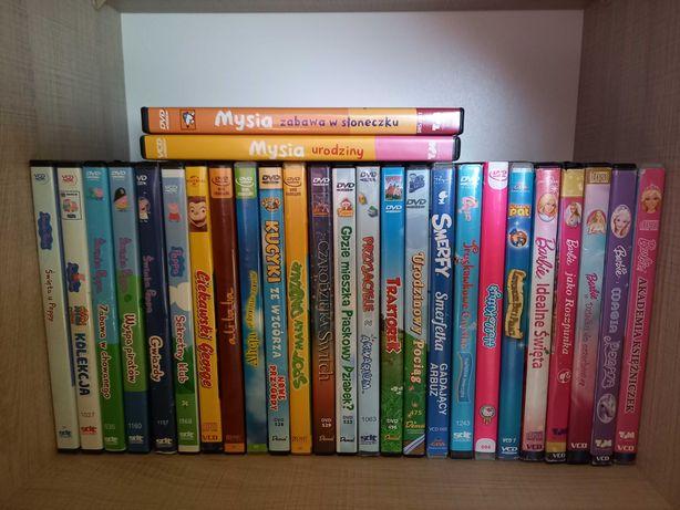 Sprzedam zestaw płyt DVD dla dzieci