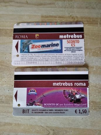 Билеты на разные виды транспорта из Европы
