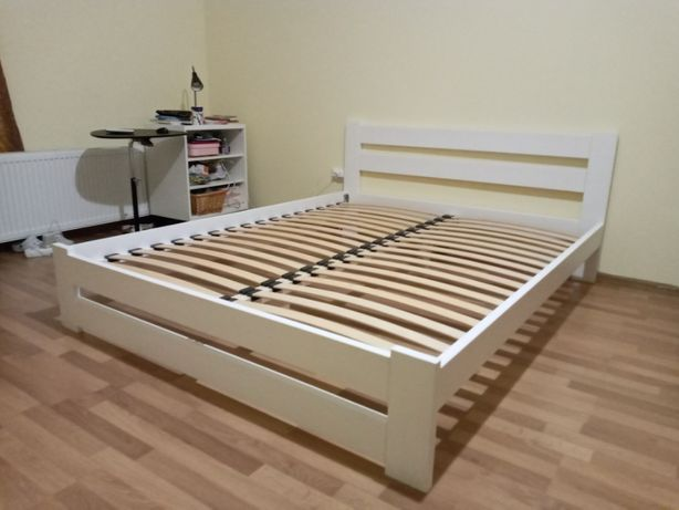 Новеньке деревяне ліжко розміром 160х200, кровать в чудовому виконанні