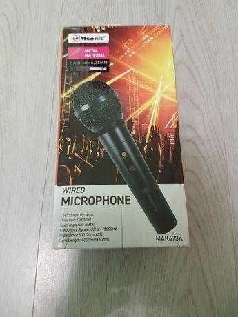 Mikrofon przewodowy firmy Msonic