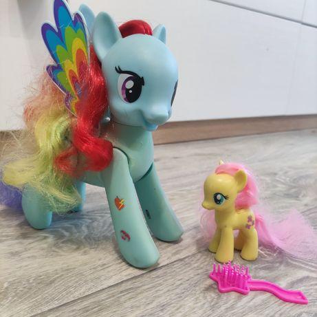 Интерактивная пони. My little pony от Hasbro. Rainbow Dash. Радуга
