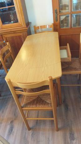 Vendo mesa e conjunto 4 cadeiras