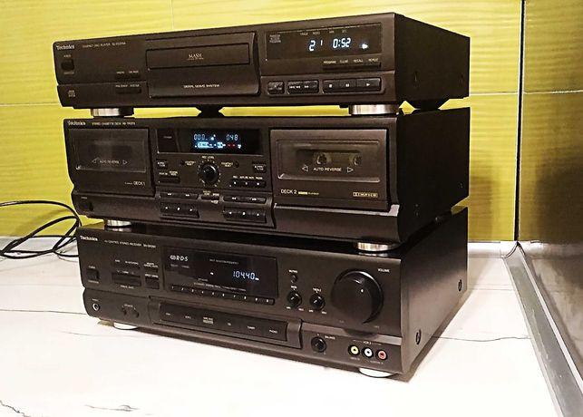 Technics- amplituner-CD, Deck