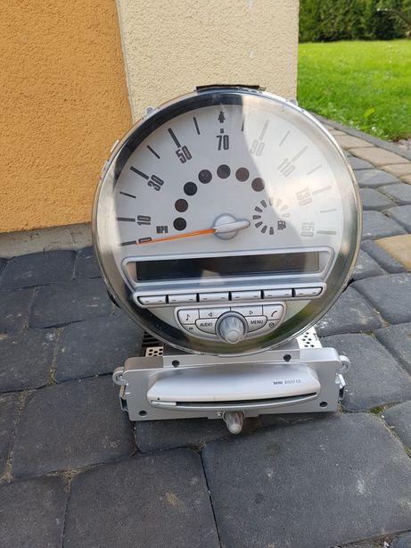 Licznik zegary radio