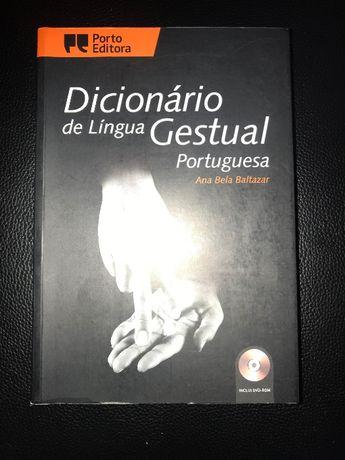 Dicionário de Língua Gestual inclui CD