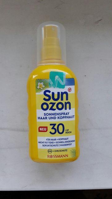 Сонцезахисний спрей для волосся