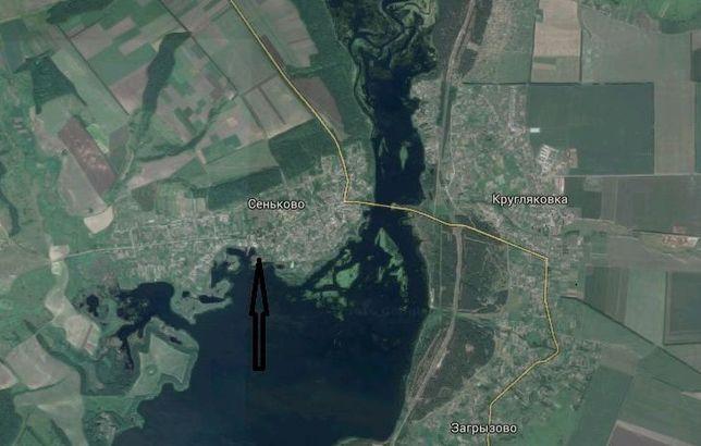 СРОЧНО!!Земельный участок 25 с на берегу Краснооскольского водохр.