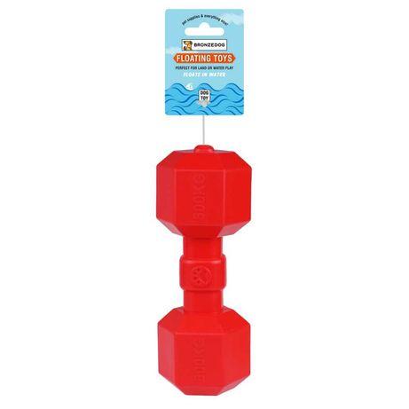 Игрушка для собак BRONZEDOG FLOAT плавающая гантеля 9 Х 20 СМ