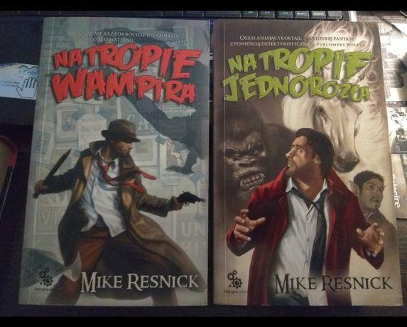 Na tropie wampira Na tropie jednorożca Mike Resnick Fabryka Słów