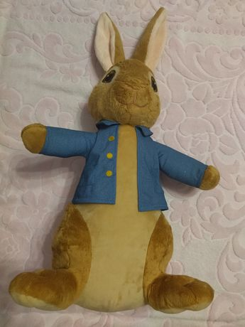 Игрушка мягкая кролик Питер большая 55 см