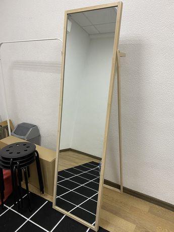 Зеркало jysk с вешалкой сзади