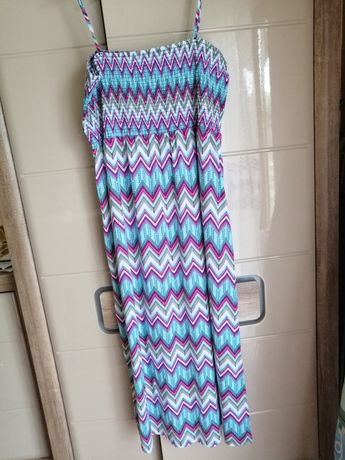 Sukienka plażowa 2Xl-4XL