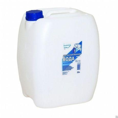 Вода дистиллированная / Вода питьевая артезианская