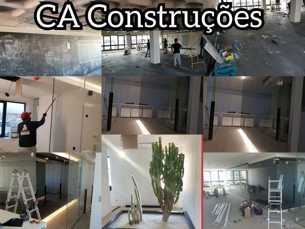 Remodelação e construção