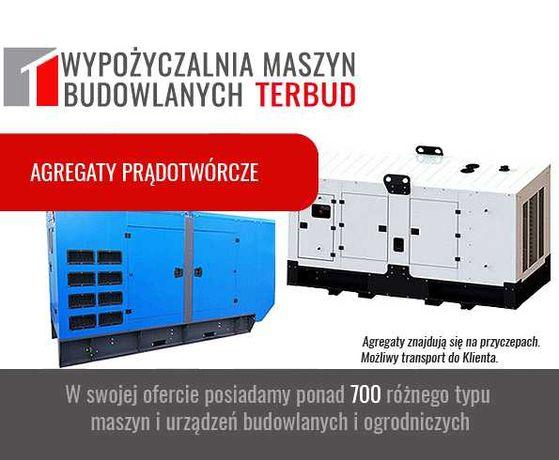 Agregat prądotwórczy, od 2kW do 250 kW. Generator. Wypożyczalnia.