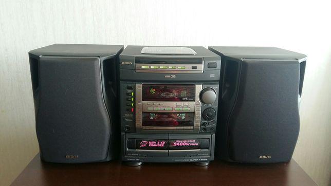 Музыкальный центр Япония AIWA NSX -F9. На 5 дисков.