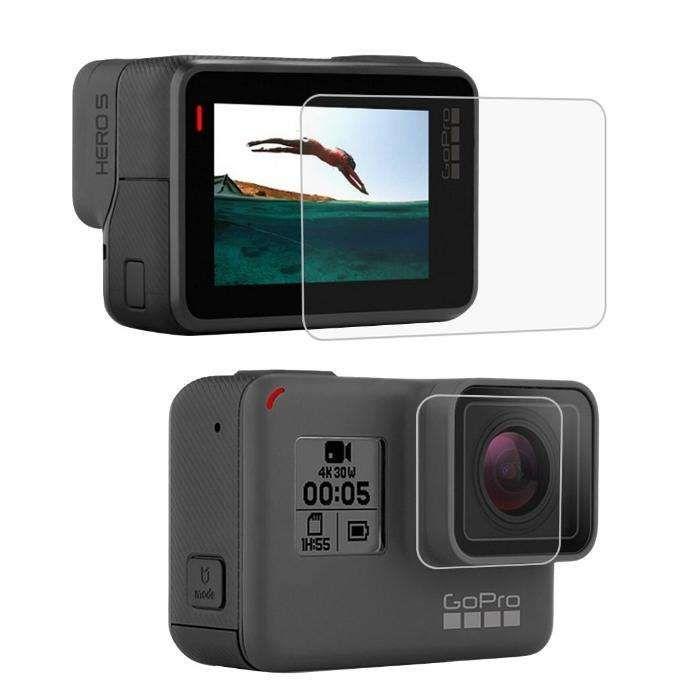 Vidro Temperado Gopro Hero 6 Black Lente + LCD - Novo - Portes Grati Faro - imagem 1