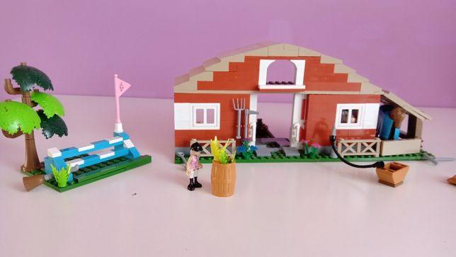 Klocki Cobi ranczo stajnia wieś zagroda farma zestaw jak Lego