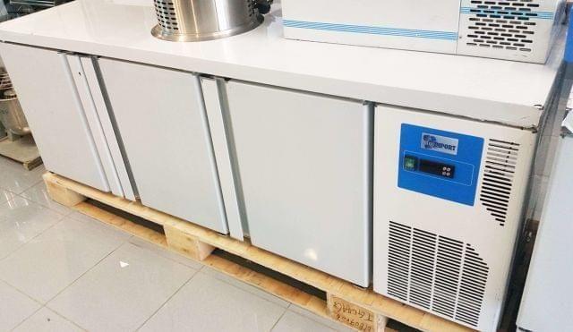 Bancada Industrial de Congelação 3 Portas NOVA