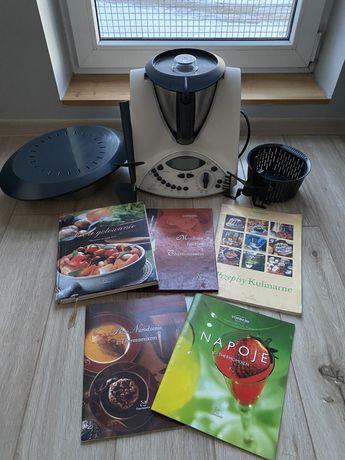 Thermomix TM 31 robot kuchenny dodatki książki