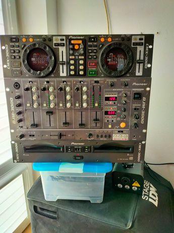 pioneer djm-3000 pioneer cmx-3000 zstaw
