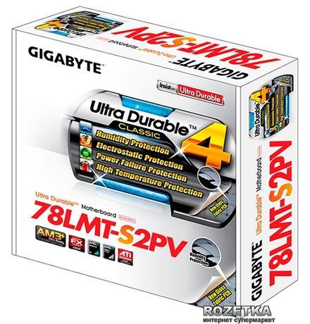 Материнская плата gigabyte ga-78lmt-s2pv