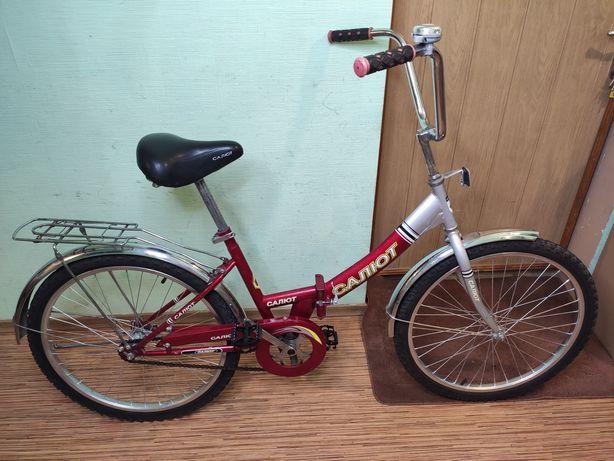 """24"""" подростковый велосипед Салют на 10-99 лет 125 - 165 см рост ХВЗ"""