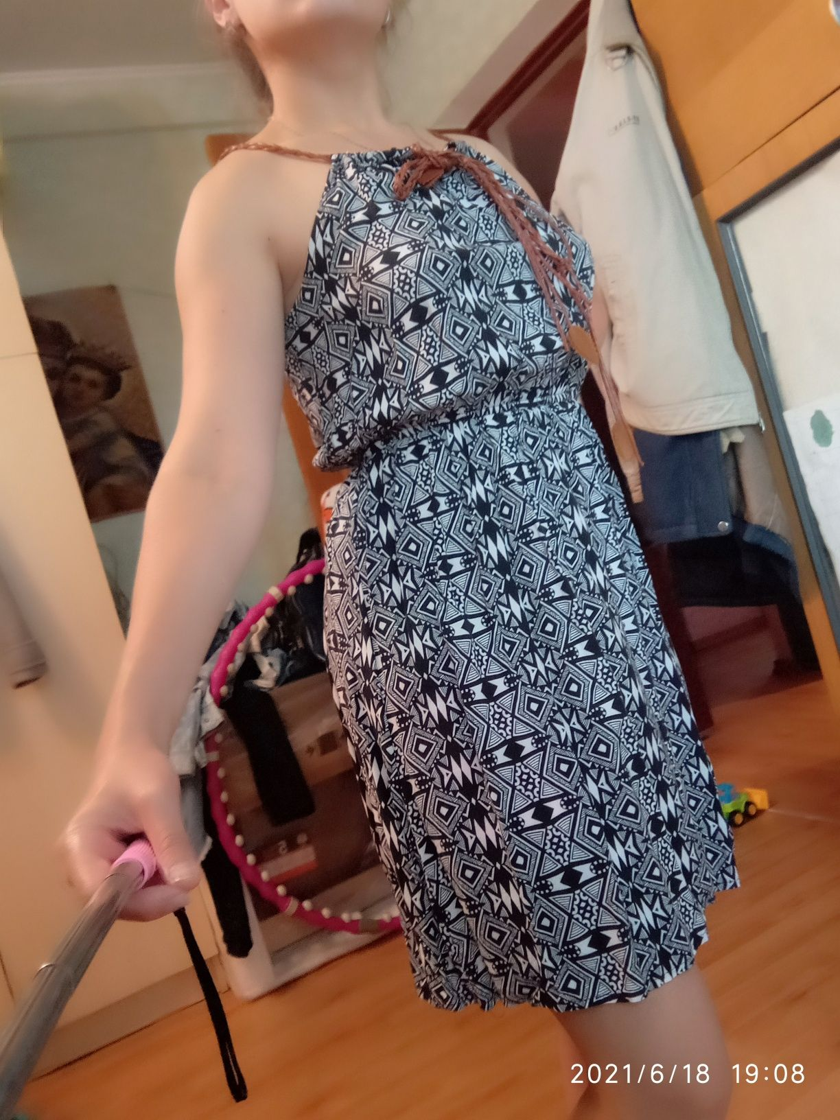 Летнее платье ..