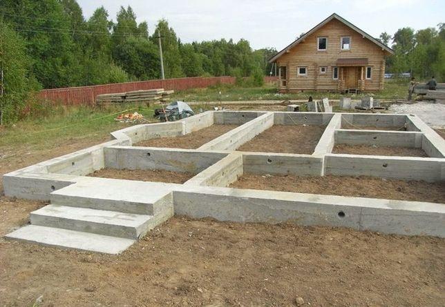 Строительные бетонные работы