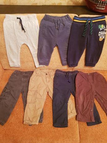 Спортивные штаны джинсы 86 р, на 1-1.5 года