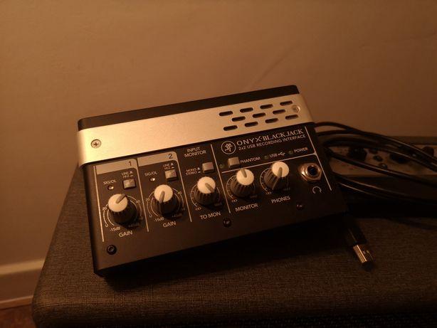 Mackie Blackjack Onyx interfejs audio usb