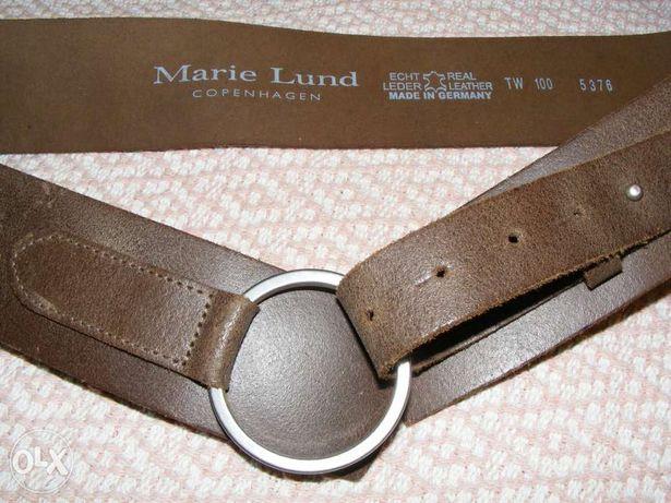 Marie Lund -pasek ze skóry naturalnej