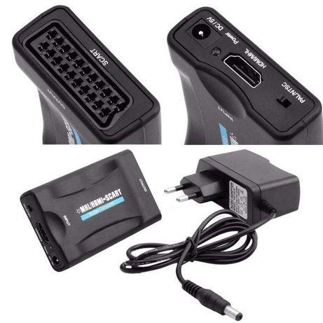 HDMI para SCART conversor/adaptador de Vídeo e Áudio