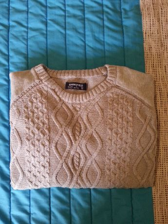 Camisola de Lã XL Springfield original (usada)